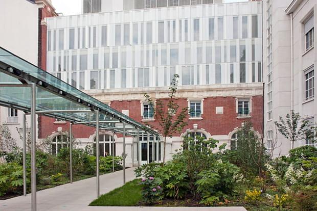 Banque Postale jardin