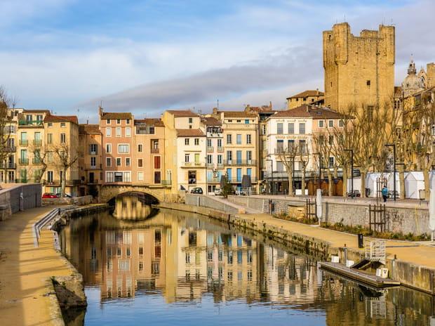 4e : Narbonne (Aude), 1 728 euros le mètre carré