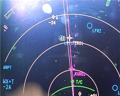 avion en approche