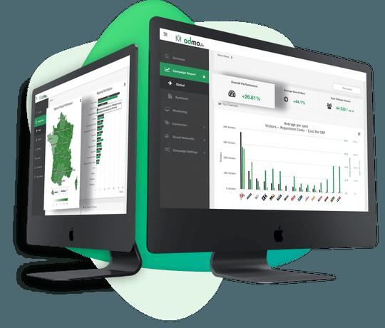 Admo.tv veut passer du drive to Web au drive to store