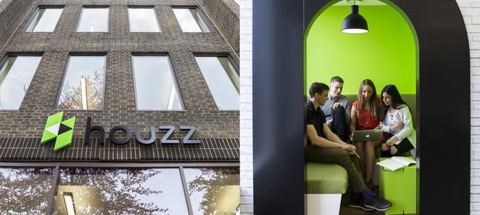 Le nouveau siège européen de Houzz, multiculturel et design