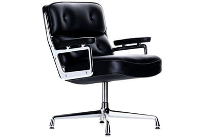 ce fauteuil pivotant a été créé en 1960 pour le rockfeller center à new york.