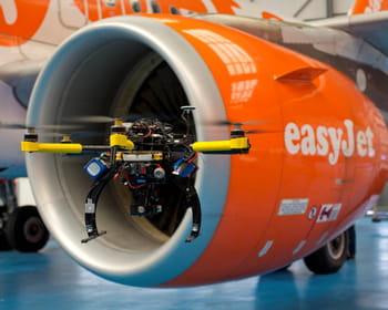 le drone contrôleur d'avions.
