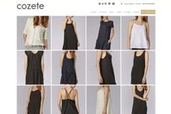 lamarque de vêtements pour femme cozete adosse son site d'e-commerce à oxatis.