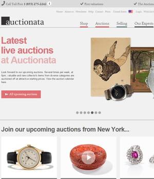 auctionata propose des œuvres d'art aux enchères.