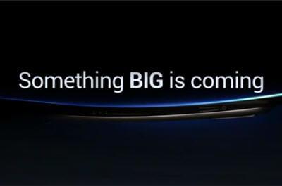 capture d'écran de la vidéoofficiellede teasing de samsung.