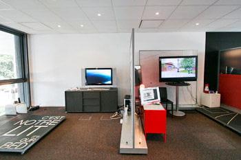 le show room à l'intérieur du technocentre