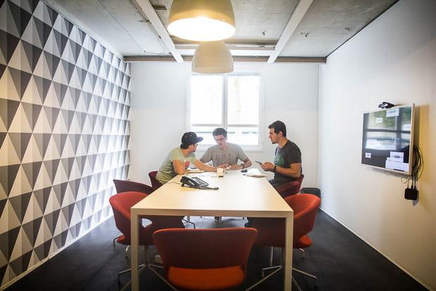 Siège Deezer : salle de réunion