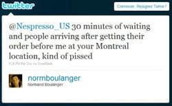 ce simple tweet a failli déclencher le licenciement d'un salarié de nespresso