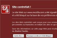 la détection de sites frauduleux
