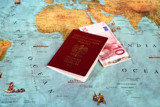 Carte : les pays où un touriste rapporte le plus