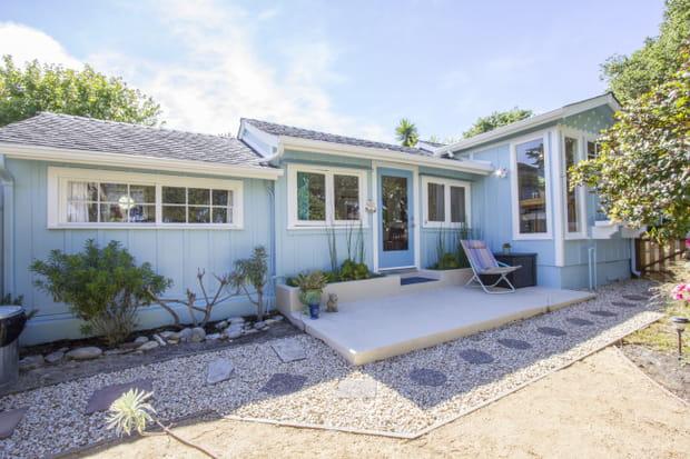 La maison de John Steinbeck à Pacific Grove (Etats-Unis)