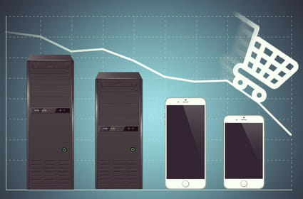 Face à la baisse des audiences desktop, les e-marchands améliorent l'UX mobile