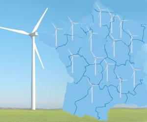 le classement des régions qui ont le plus d'éoliennes