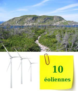 saint-pierre-et-miquelon possède dix éoliennes.