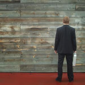 vous vous retrouvez face à un mur.