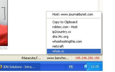 l'extension show-ip permet d'avoir accès à un ensemble d'information sur l'ip et
