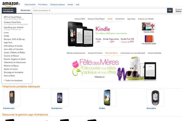 Amazon en 2013