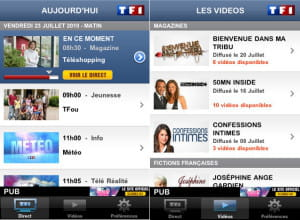 l'application payante tf1 player