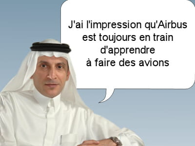akbar al baker, le patron de qatar airways, le 15 novembre 2011.