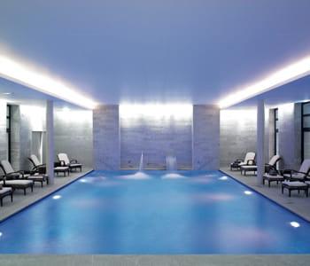 la piscine de l'espace payot.