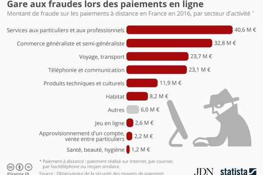 Quels secteurs sont les plus victimes de la fraude aux paiements à distance?