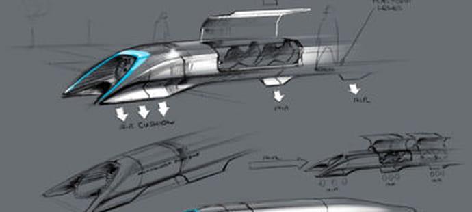 "L'Hyperloop, le train qui ""roulera"" à 1200 à l'heure"