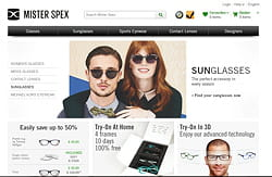 l'opticien en ligne mister spex adosse son site à intershop.