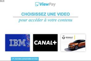 Une pub contre un article: le pari de Viewpay