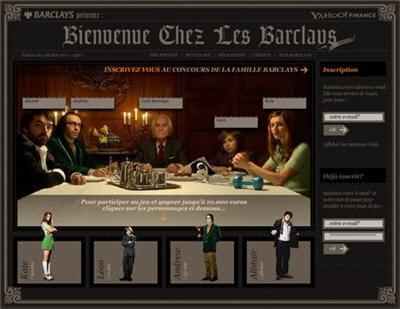 'bienvenue chez les barclays', un jeu d'initiation à la bourse développé pour la