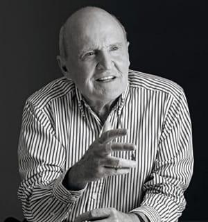jack welch, président de general electric de 1981 à 2001.