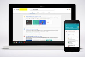 Avec Cloud Search, Google coiffe GSuite... d'un moteur de recherche