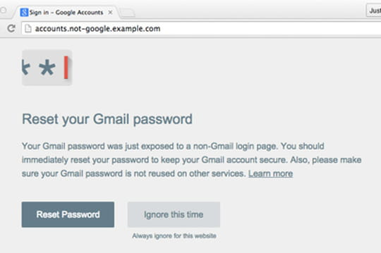Phishing : Google livre une extension Chrome pour sécuriser les Google Apps