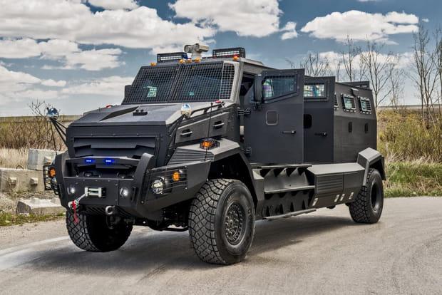 La Mercedes-Benz G63 AMG, version véhicule de transport de troupes