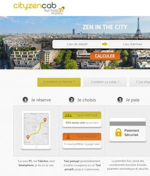 utiliser le service de partage de taxi cityzen cab permettrait aux utilisateurs