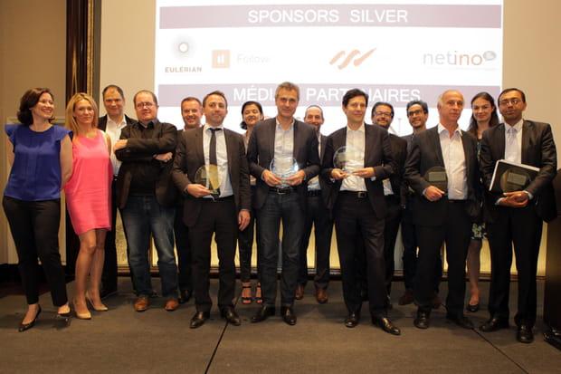 Lauréats et jury réunis