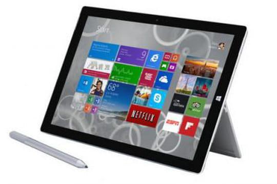 Surface Pro 3 : une mise à jour du firmware ciblant les entreprises
