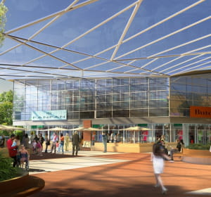 le nouveau centre commercial à fleury-sur-orne comprendra 60boutiques