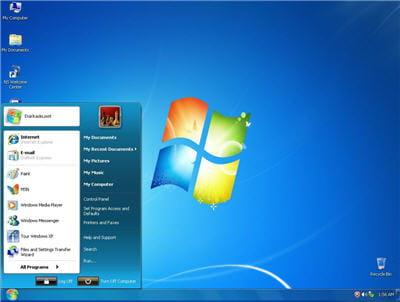un thème windows 7 pour xp