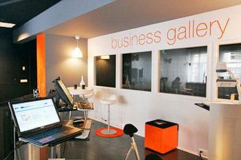 la business gallery aux jardins de l'innovation d'issy-les-moulineaux