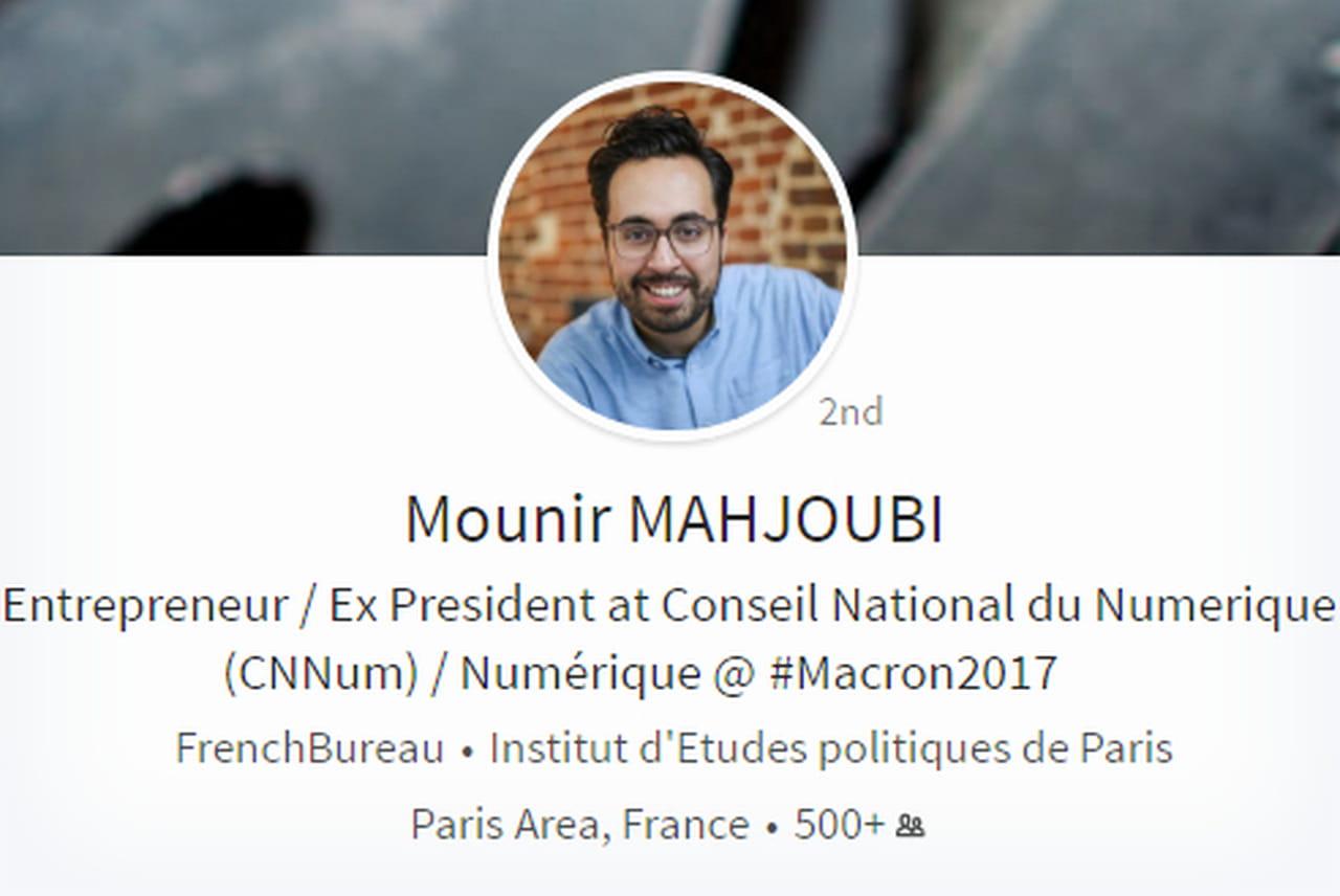 Le social entrepreneur Mounir Mahjoubi, Secrétaire d'Etat au Numérique
