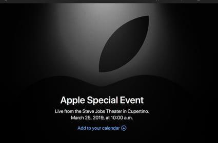 Keynote Apple: les services qui devraient être annoncés
