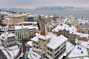 une vue de suisse.