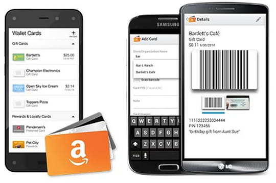 Amazon Wallet : Amazon sort la première version