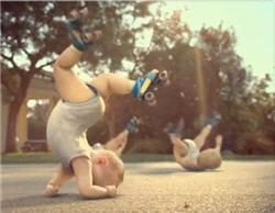 les roller babies, une campagne virale réalisée par betc euro rscg pour le
