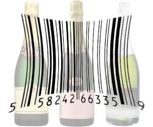 les ventes de champagne sont très dépendantes du prix.