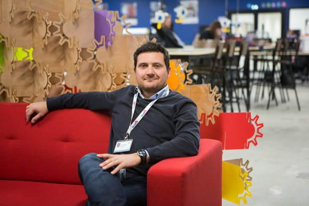 Christophe Raillon, directeur du projet TechShop