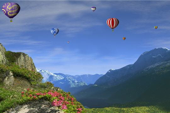 Une bouffée d'oxygène en altitude
