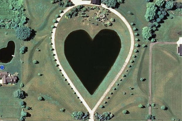 Google Earth ouvre son coeur