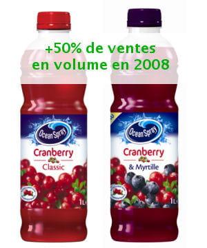 l'ocean spray cranberry.